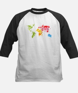 World famous buildings animal colo Baseball Jersey