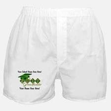 Graduate Green 2017 Boxer Shorts