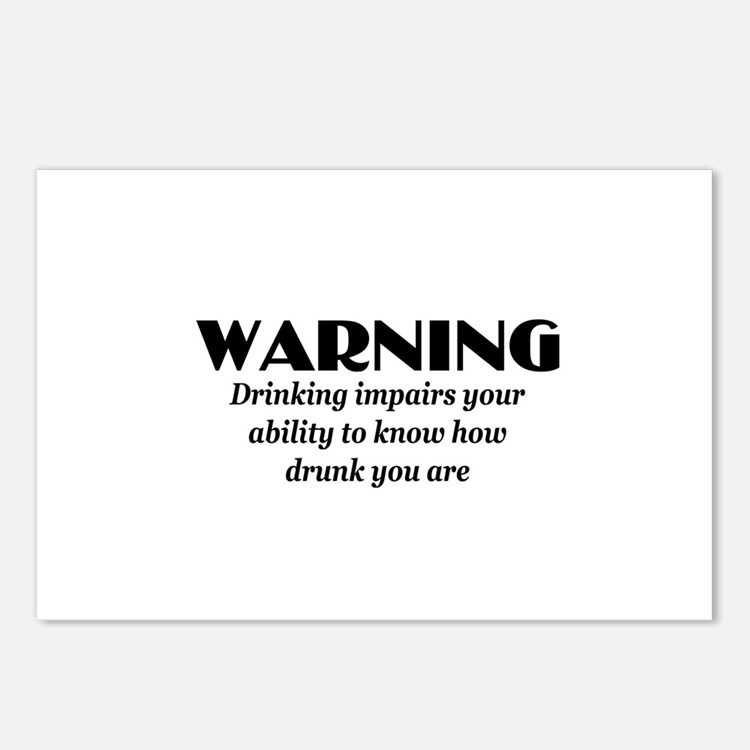 Funny beer Postcards (Package of 8)