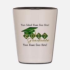 Graduate Green 2017 Shot Glass