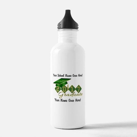 Graduate Green 2017 Water Bottle