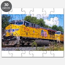 Union Pacific Locomotive Train Puzzle