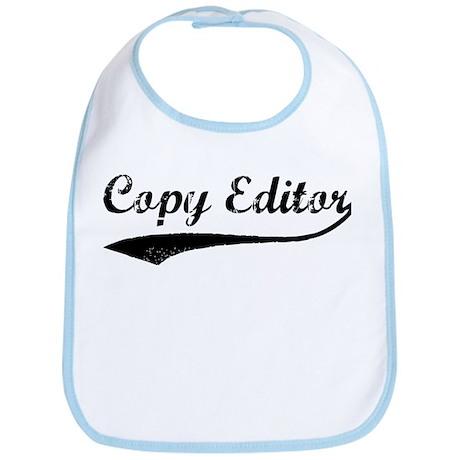 Copy Editor (vintage) Bib