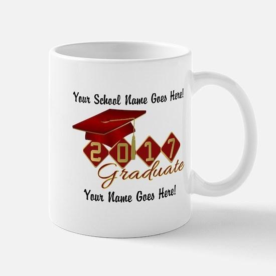 Graduate Red 2017 Mug