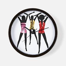 Fashion rule girls Wall Clock