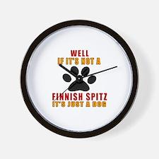 If It Is Not Finnish Spitz Dog Wall Clock