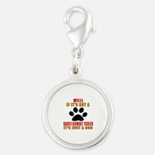 If It Is Not Dandie Dinmont Te Silver Round Charm