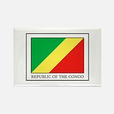 Cute Brazzaville Rectangle Magnet