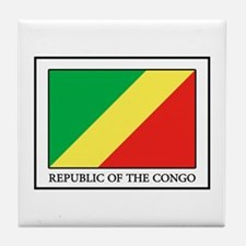 Republic of the Congo Tile Coaster