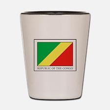 Republic of the Congo Shot Glass