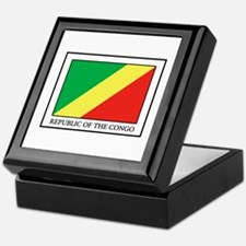 Republic of the Congo Keepsake Box