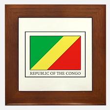 Republic of the Congo Framed Tile