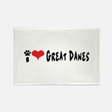 I love Great Danes. Magnets