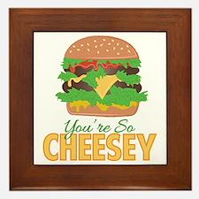 So Cheesey Framed Tile