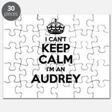 I can't keep calm Im AUDREY Puzzle