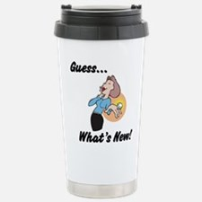 Cute Funny engagement Travel Mug