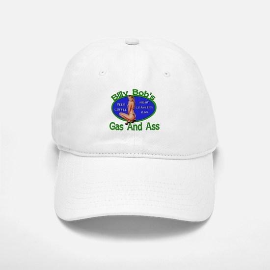 Gas and Ass Baseball Baseball Cap