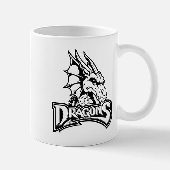 Dayton dragon head design Mugs