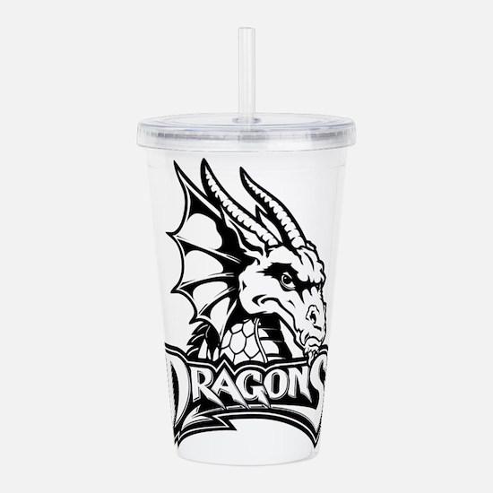 Dayton dragon head des Acrylic Double-wall Tumbler