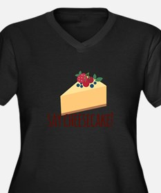 Say Cheesecake Plus Size T-Shirt