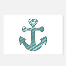 Heart Anchor Postcards (Package of 8)