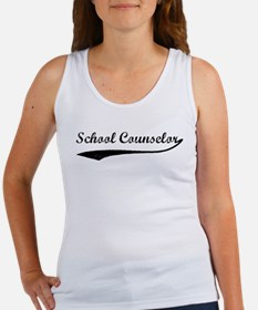 School Counselor (vintage) Women's Tank Top