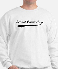 School Counselor (vintage) Sweatshirt