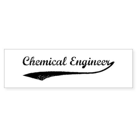 Chemical Engineer (vintage) Bumper Sticker