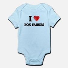 I love Fox Fairies Body Suit