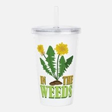 In The Weeds Acrylic Double-wall Tumbler