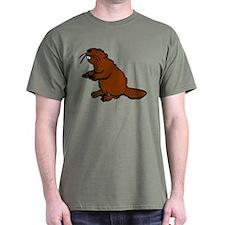 Brown Beaver T-Shirt