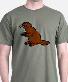 Brown Beaver T-Shirt