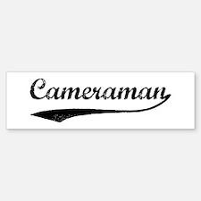 Cameraman (vintage) Bumper Bumper Bumper Sticker