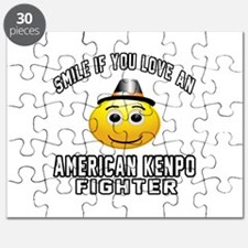 American Kenpo Fighter Designs Puzzle