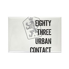 83 Lions Rectangle Magnet (10 pack)