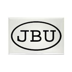 JBU Oval Rectangle Magnet (100 pack)