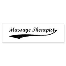 Massage Therapist (vintage) Bumper Bumper Sticker