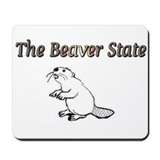 The Beaver State Mousepad