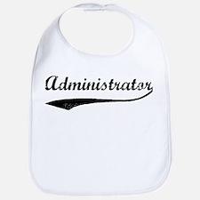Administrator (vintage) Bib