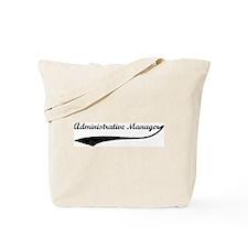 Administrative Manager (vinta Tote Bag