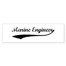 Marine Engineer (vintage) Bumper Bumper Sticker