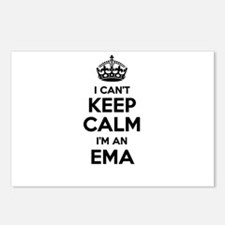 I can't keep calm Im EMA Postcards (Package of 8)
