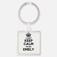 I can't keep calm Im EMELY Keychains