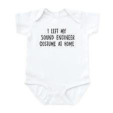 Left my Sound Engineer Infant Bodysuit