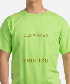 Never Underestimate An Old Woman With A Sh T-Shirt
