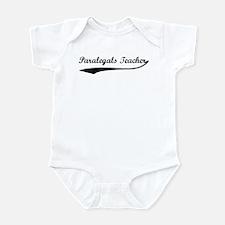 Paralegals Teacher (vintage) Infant Bodysuit