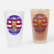 BILLARY.png Drinking Glass