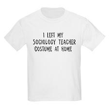 Left my Sociology Teacher T-Shirt