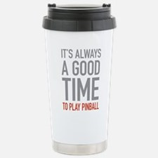 Play Pinball Travel Mug