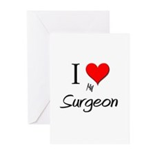 I Love My Surgeon Greeting Cards (Pk of 10)